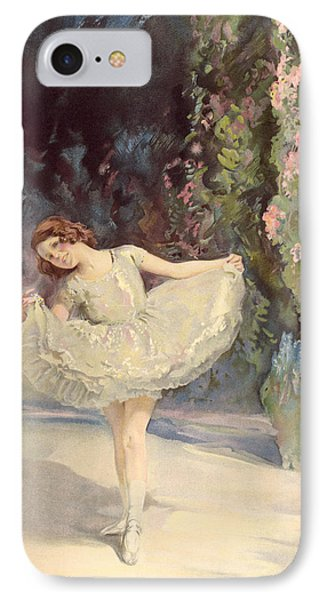Ballet IPhone Case by Septimus Edwin Scott