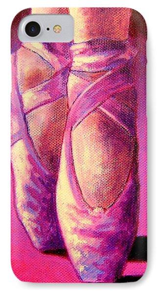 Ballet Shoes  II IPhone Case by John  Nolan
