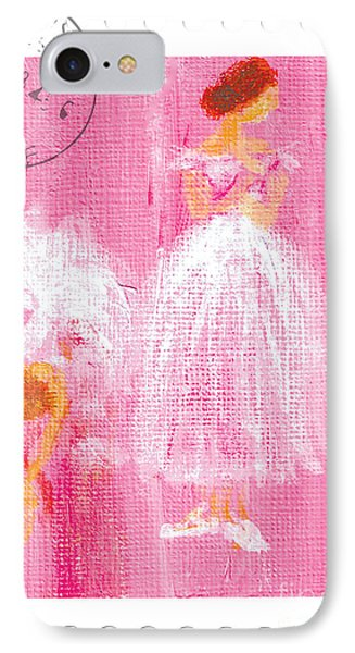 Ballet Sisters 2007 Phone Case by Marie Loh