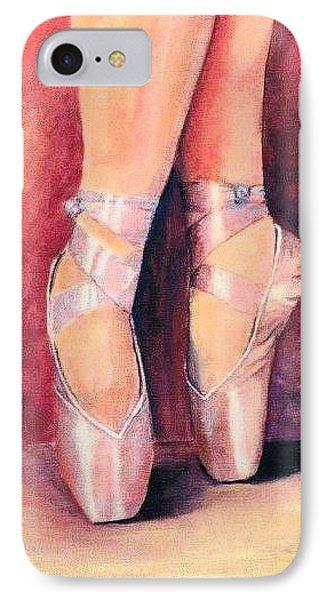 Ballet Toes IPhone Case by Sarah Farren