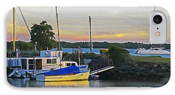 Ballina Boats Phone Case by Dennis Cox WorldViews
