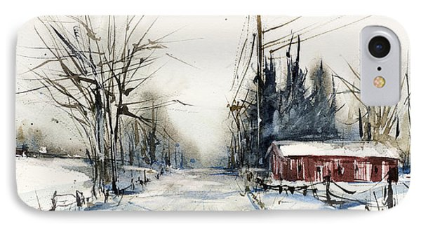 Ballina Road IPhone Case by Judith Levins