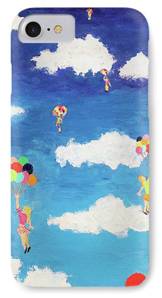 Balloon Girls IPhone Case