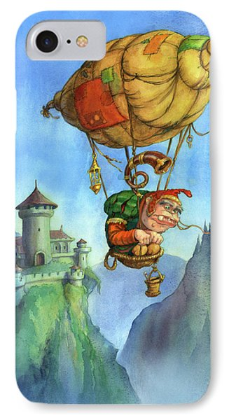 Balloon Ogre IPhone Case by Andy Catling