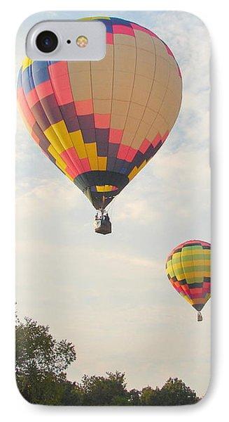 Balloon Race Phone Case by Luciana Seymour