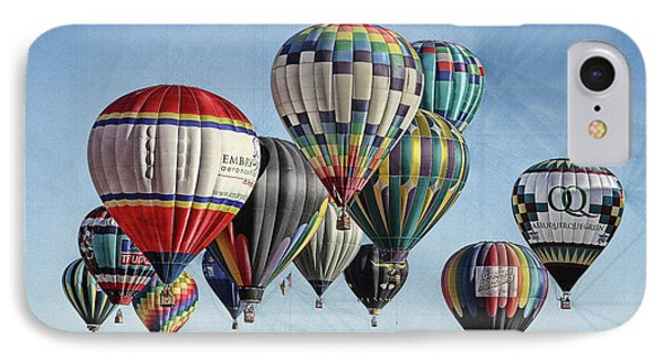 IPhone Case featuring the photograph Ballooning by Marie Leslie