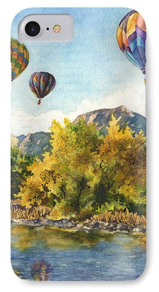 Balloons At Twin Lakes IPhone Case by Anne Gifford
