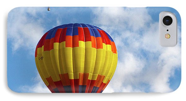 Balloons In The Cloud IPhone Case by Marie Leslie