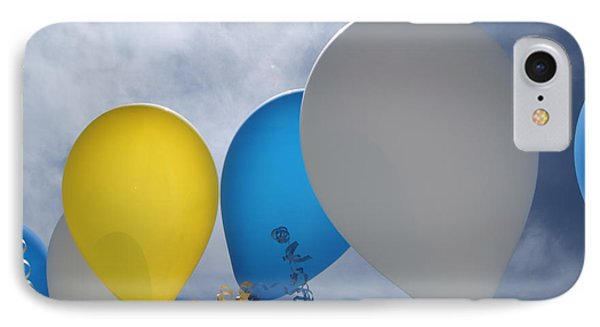 Balloons Phone Case by Patrick M Lynch