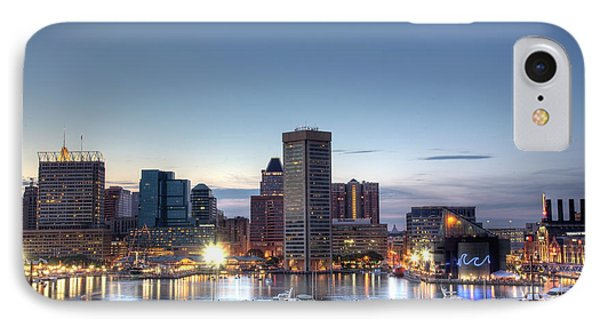 Baltimore Harbor IPhone Case by Shawn Everhart