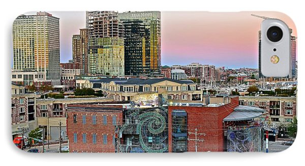 Baltimore On The Rise IPhone Case by Frozen in Time Fine Art Photography