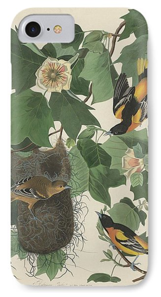 Baltimore Oriole IPhone 7 Case