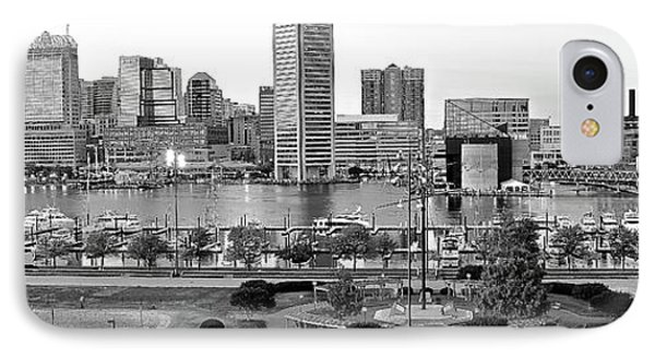 Baltimore Pano 2016 IPhone Case by Frozen in Time Fine Art Photography