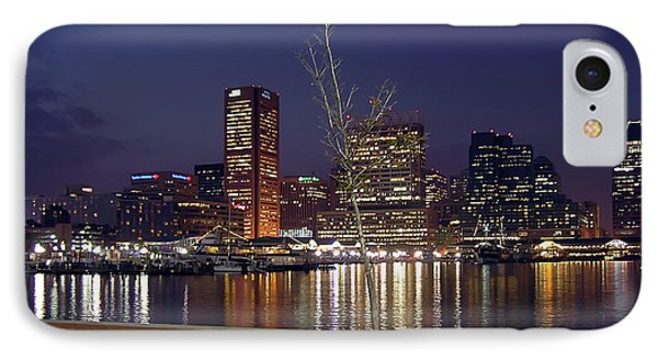IPhone Case featuring the photograph Baltimore Reflections by Brian Wallace