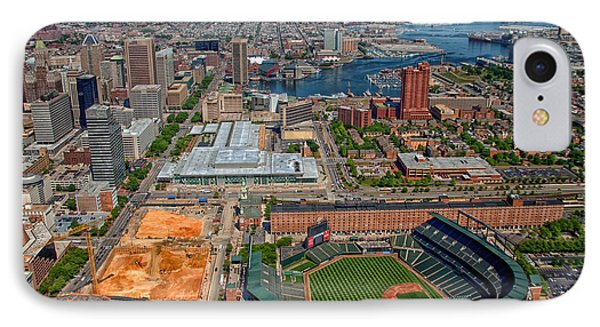 Baltimore's Camden Yards IPhone Case by Mountain Dreams
