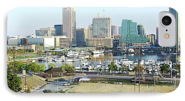 IPhone Case featuring the photograph Baltimore's Inner Harbor by Brian Wallace