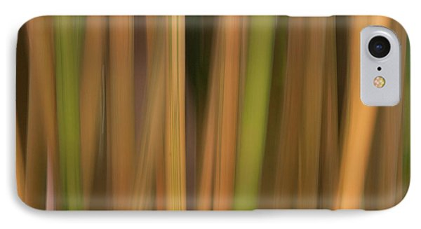 Bamboo Abstract IPhone Case by Carolyn Dalessandro