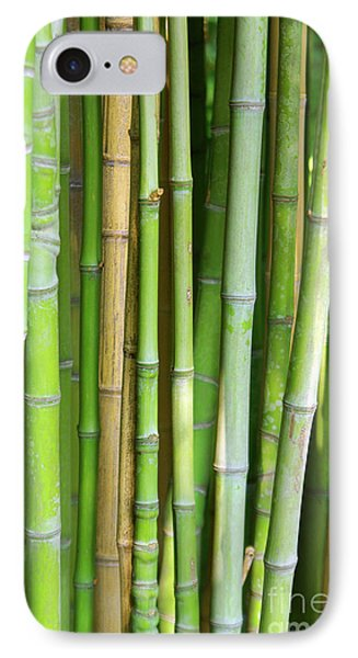 Bamboo Background Phone Case by Carlos Caetano