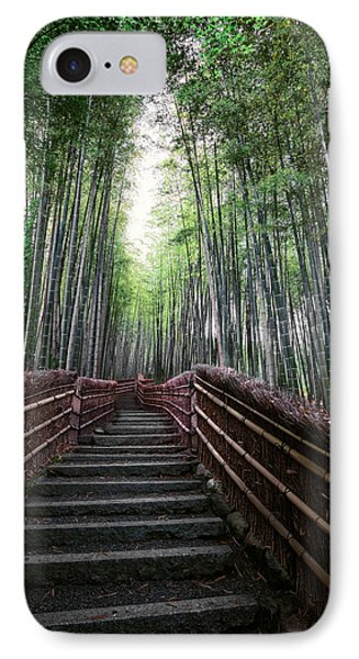 Bamboo Forest Of Japan IPhone Case