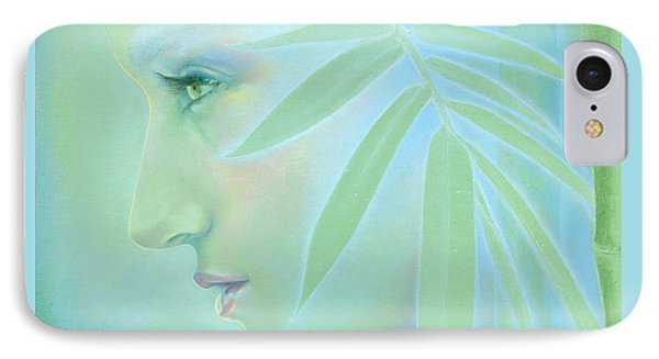 IPhone Case featuring the painting Bamboo by Ragen Mendenhall