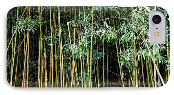 Bamboo Wind Chimes  Waimoku Falls Trail  Hana  Maui Hawaii IPhone Case by Michael Bessler
