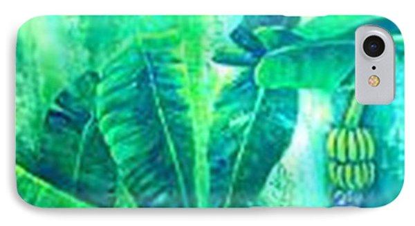 Banan Leaves 5 Phone Case by Carol P Kingsley
