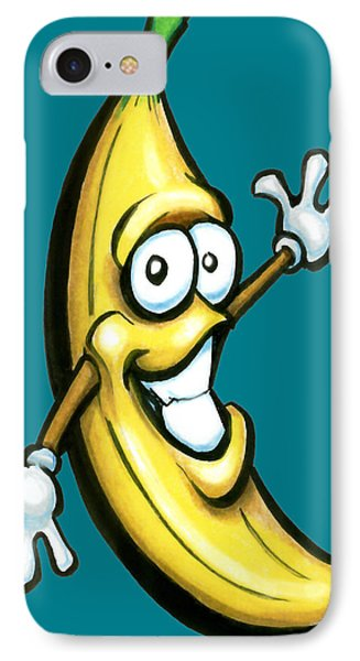 Banana Phone Case by Kevin Middleton