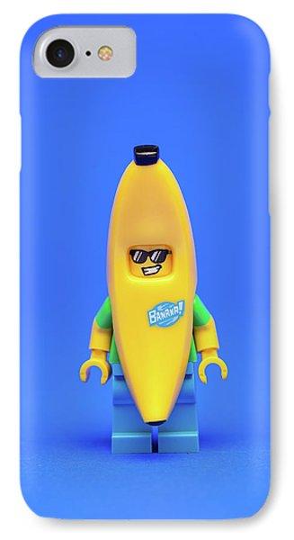 Banana iPhone 7 Case - Banana Man by Samuel Whitton
