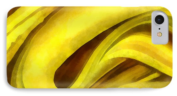 Banana With Chocolate IPhone Case by Francesa Miller