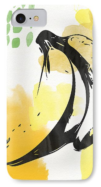 Banana iPhone 7 Case - Bananas- Art By Linda Woods by Linda Woods