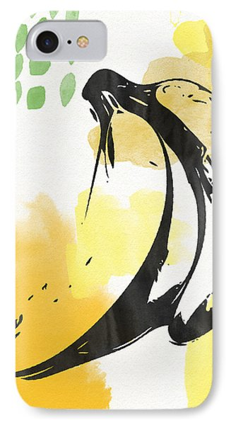Bananas- Art By Linda Woods IPhone Case by Linda Woods