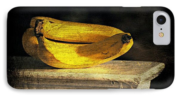 IPhone Case featuring the photograph Bananas Pedestal by Diana Angstadt