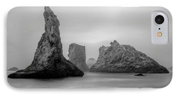 Bandon Beach In The Fog IPhone Case