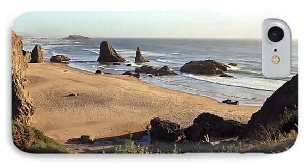 Bandon Beachfront IPhone Case by Athena Mckinzie