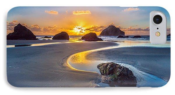 Bandon Face Rock IPhone Case by Robert Bynum