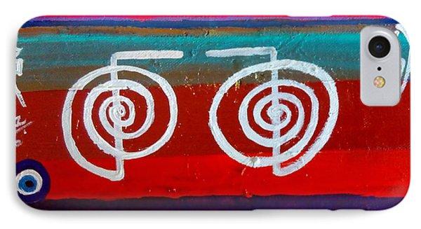 Bands Of Healing Two Cho Ku Rei's Phone Case by Rizwana Mundewadi