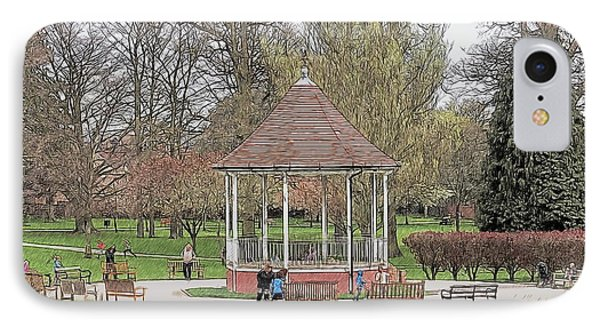 Bandstand Games IPhone Case by Paul Gulliver