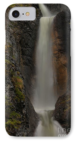 Banf Silverton Falls IPhone Case by Adam Jewell