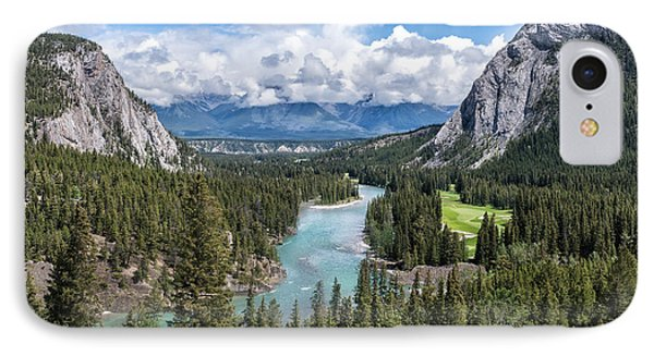 Banff - Golf Course IPhone Case