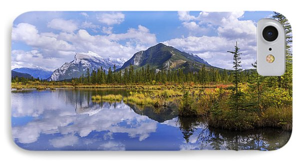 IPhone Case featuring the photograph Banff Reflection by Chad Dutson