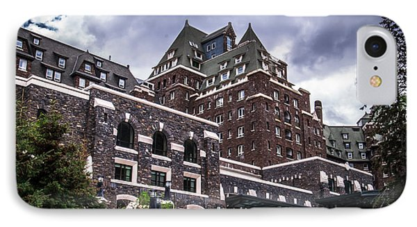 Banff Springs Hotel IPhone Case