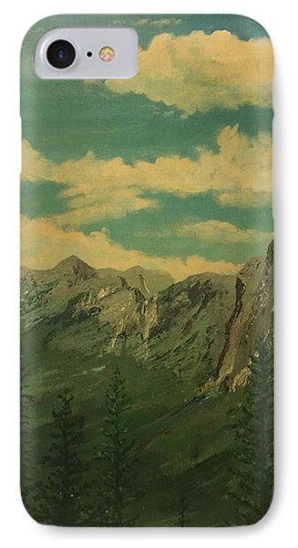 IPhone Case featuring the painting Banff by Terry Frederick