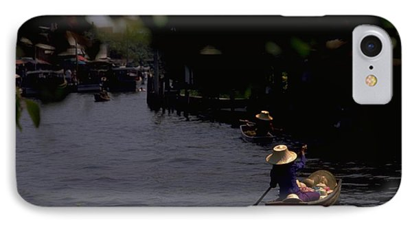 Bangkok Floating Market IPhone Case by Travel Pics