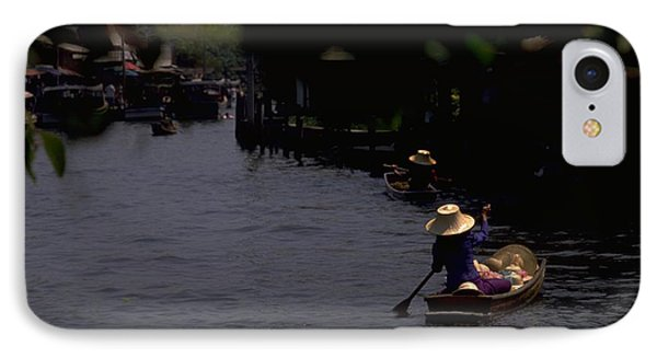 Bangkok Floating Market IPhone 7 Case