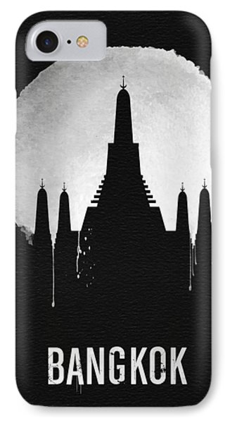Bangkok Landmark Black IPhone Case