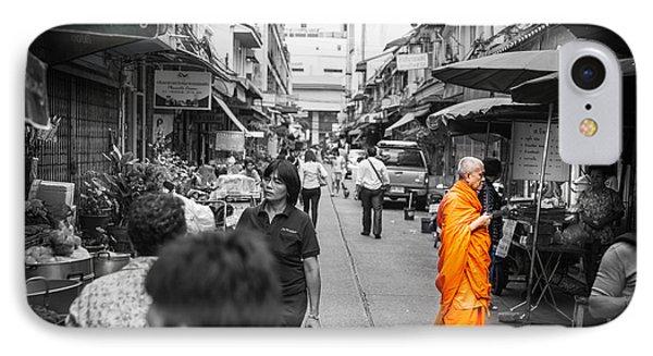 Bangkok Monk IPhone Case