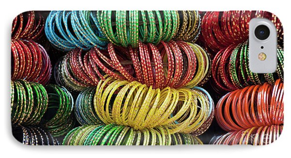 Bangles Of India IPhone Case by Tim Gainey
