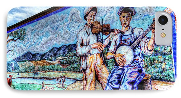 Banjo Mural IPhone Case by Dale R Carlson