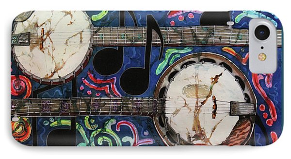 Banjos Phone Case by Sue Duda