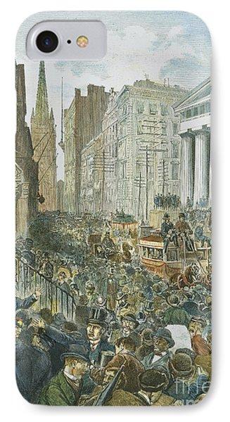 Bank Panic, 1884 Phone Case by Granger